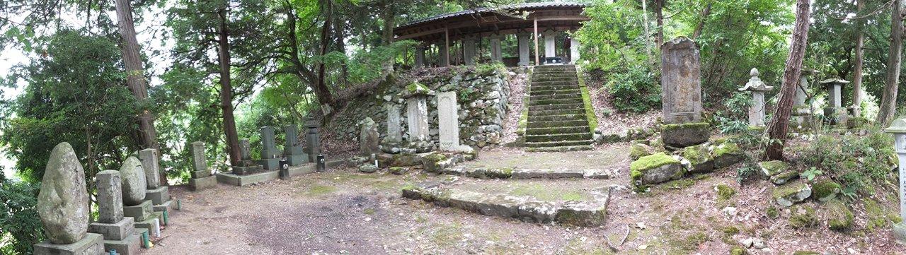 壺渓御廟パノラマ 3