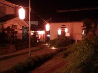 地蔵盆の夜